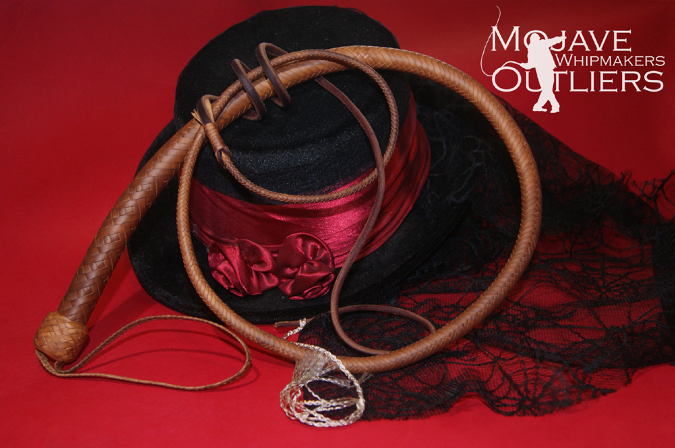 4ft MA 16 plait Natural Snake Whip 150