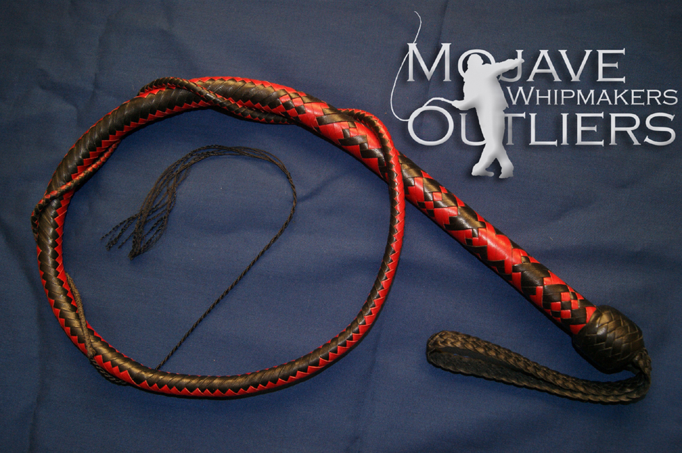 Mojave Outliers Whipmakers 4ft 16 plait Signal Whip Spiral SC