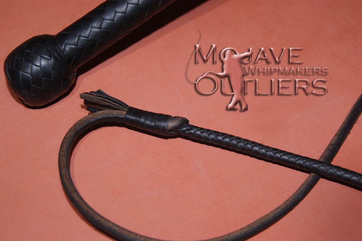 5ft 16 plait NW Handle and Fall Bullwhip