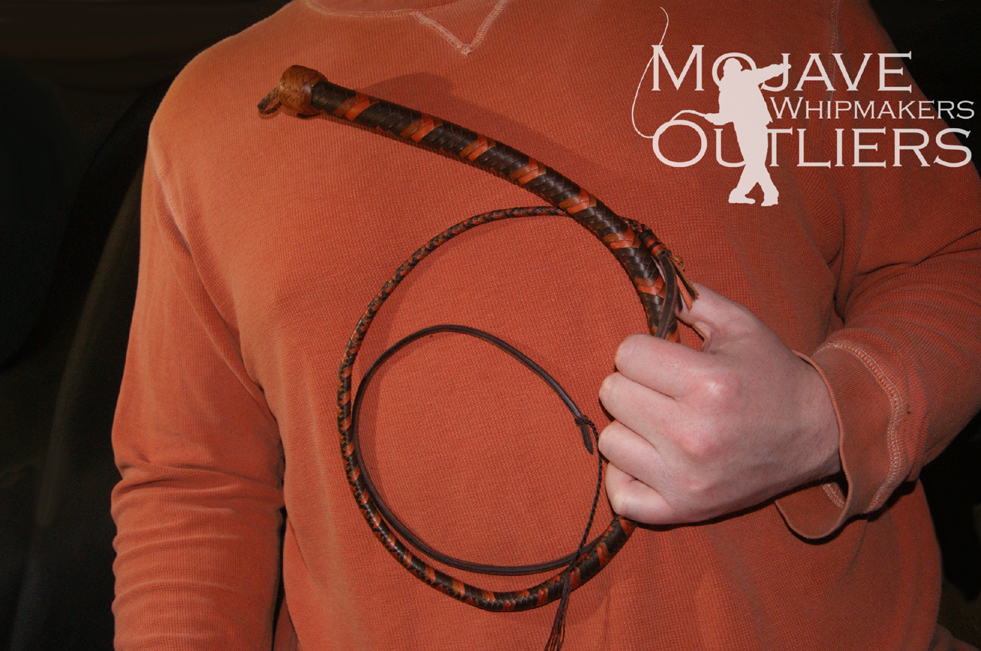 Mojave Outliers Whipmakers Brandy Whiskey Roan Budget Boudoir mini pocket snake whip