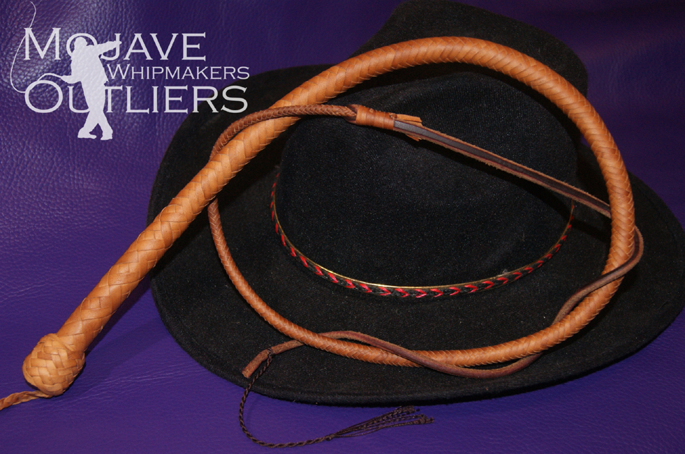 Mojave Outliers Whipmakers natural Budget Boudoir mini pocket snake whip