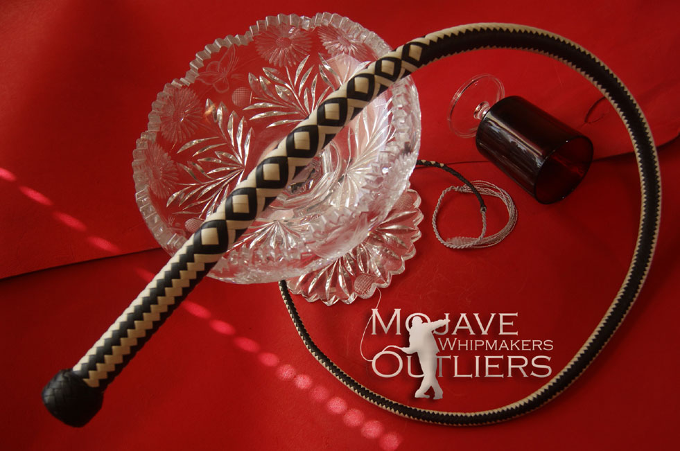 Mojave Outliers Whipmakers 4ft 16 plait hyb sig b and w JH2