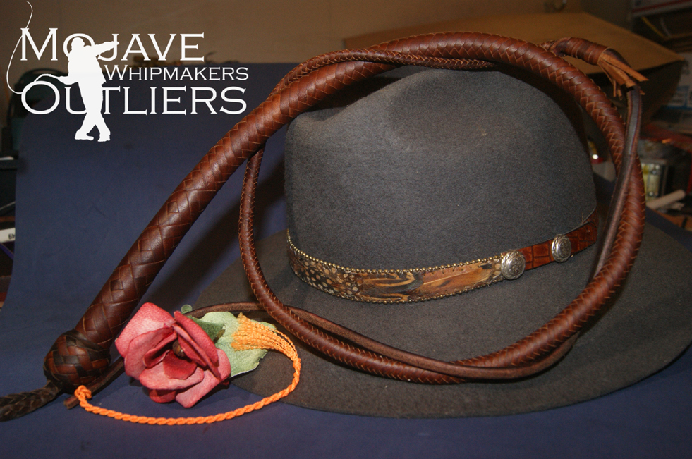 Mojave Outliers Whipmakers Whiskey BB BrandyWhiskey 2 tone knot May 2015