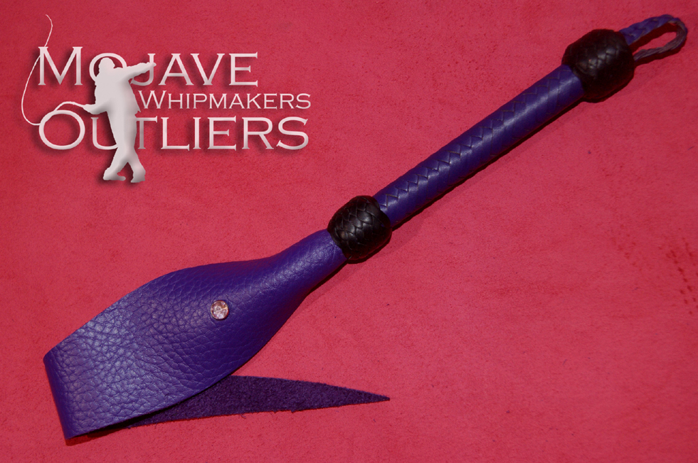 Mojave Outliers Whipmakers Baby Basilisk Purple with Bling
