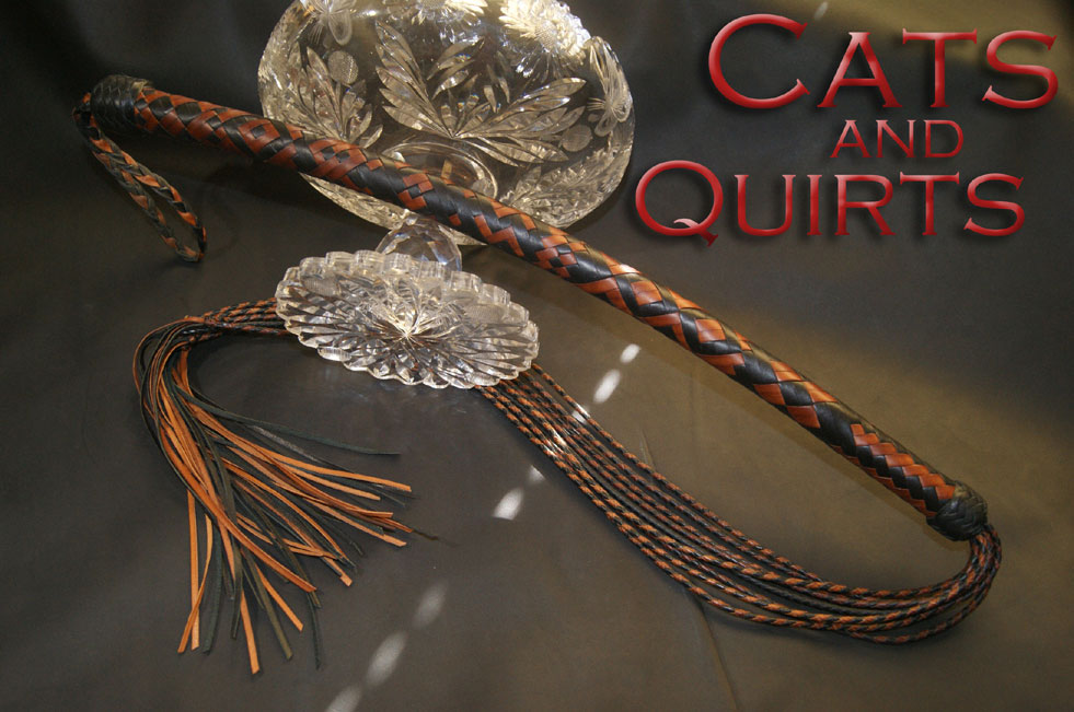 Cat o'nine tails and Quirt Cover