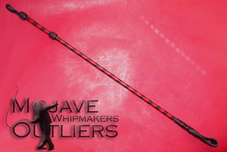 Mojave Outliers Whipmakers Riding Crop full length