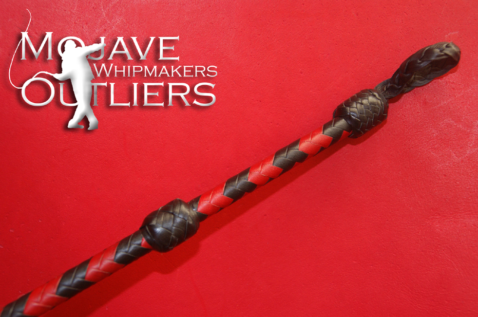Mojave Outliers Whipmakers Riding Crop Handle Detail