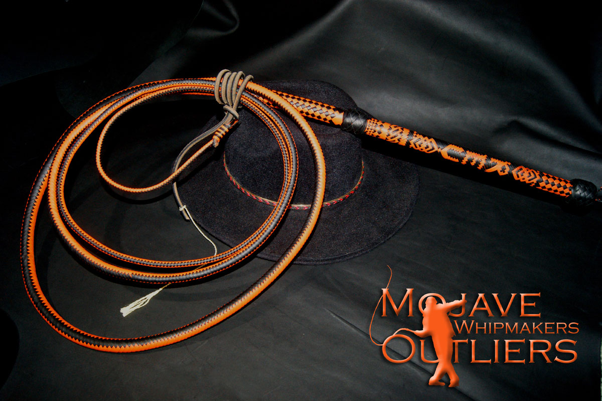 12 ft 32/16 plait split spiral bullwhip JB