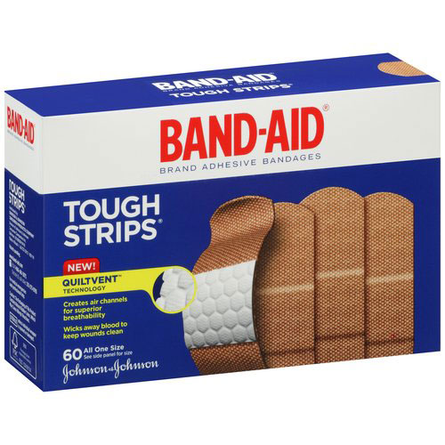 Bandaid Brand Tough Strips