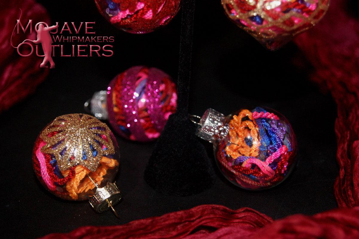 Christmas Cracker Ball Ornament Center