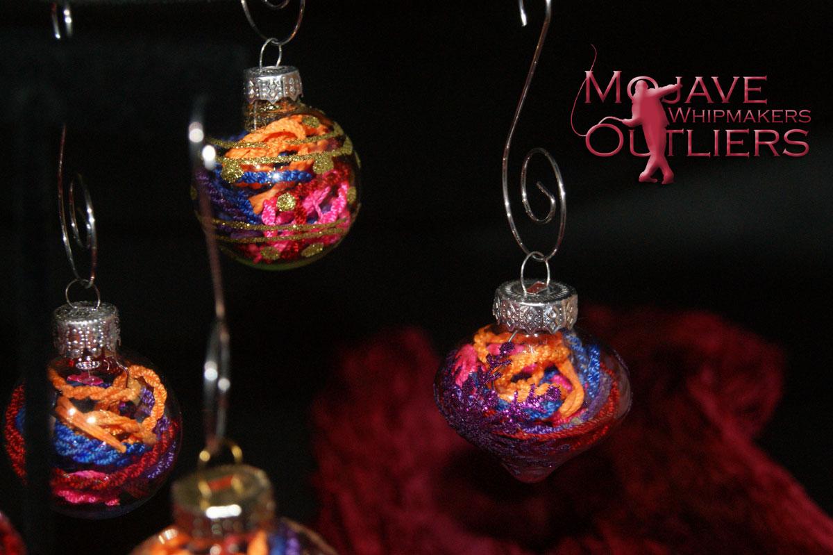 Christmas Cracker Ball Ornament Right